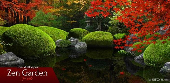 Zen garden fall wallpapers para android aplicaciones for Jardin japones cursos