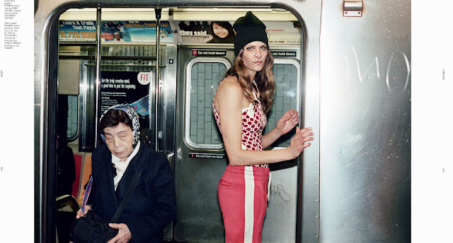 Frankie Rayder in Dazed & Confused April 2012 by Theo Wenner