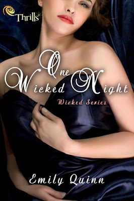 Cover reveal: One Wicked Night (Wicked #1) by Emily Quinn