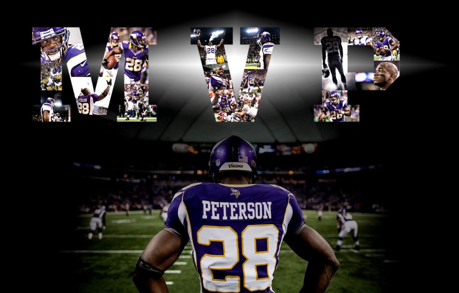 View Original Size NFL Minnesota Vikings Adrian Peterson