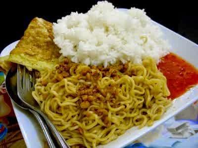 Bahaya, Jangan Makan Mie Dengan Nasi