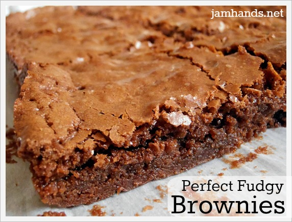 Perfect Fudgy Brownies | Jam Hands | Bloglovin'