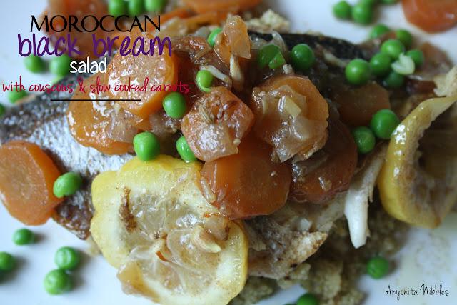 Moroccan BlacK Bream Salad