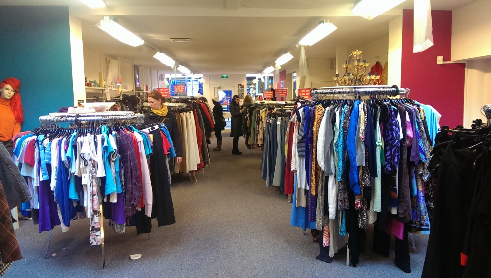 First Stop Was Out Of The Closet, A Thrift Shop Which Benefits The AIDS  Foundation