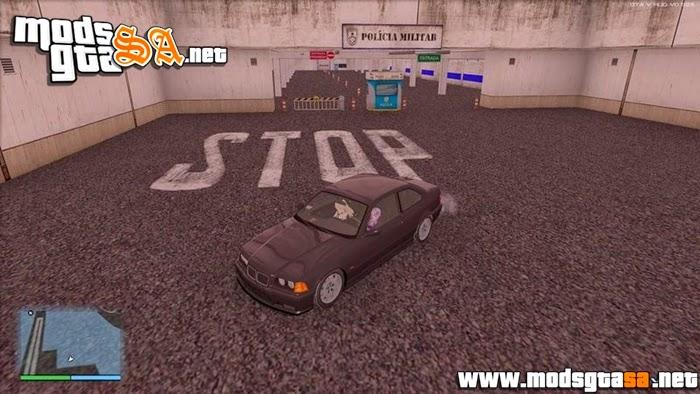 SA - Mod Estacionamento da Policia dos Velozes e Furiosos 6