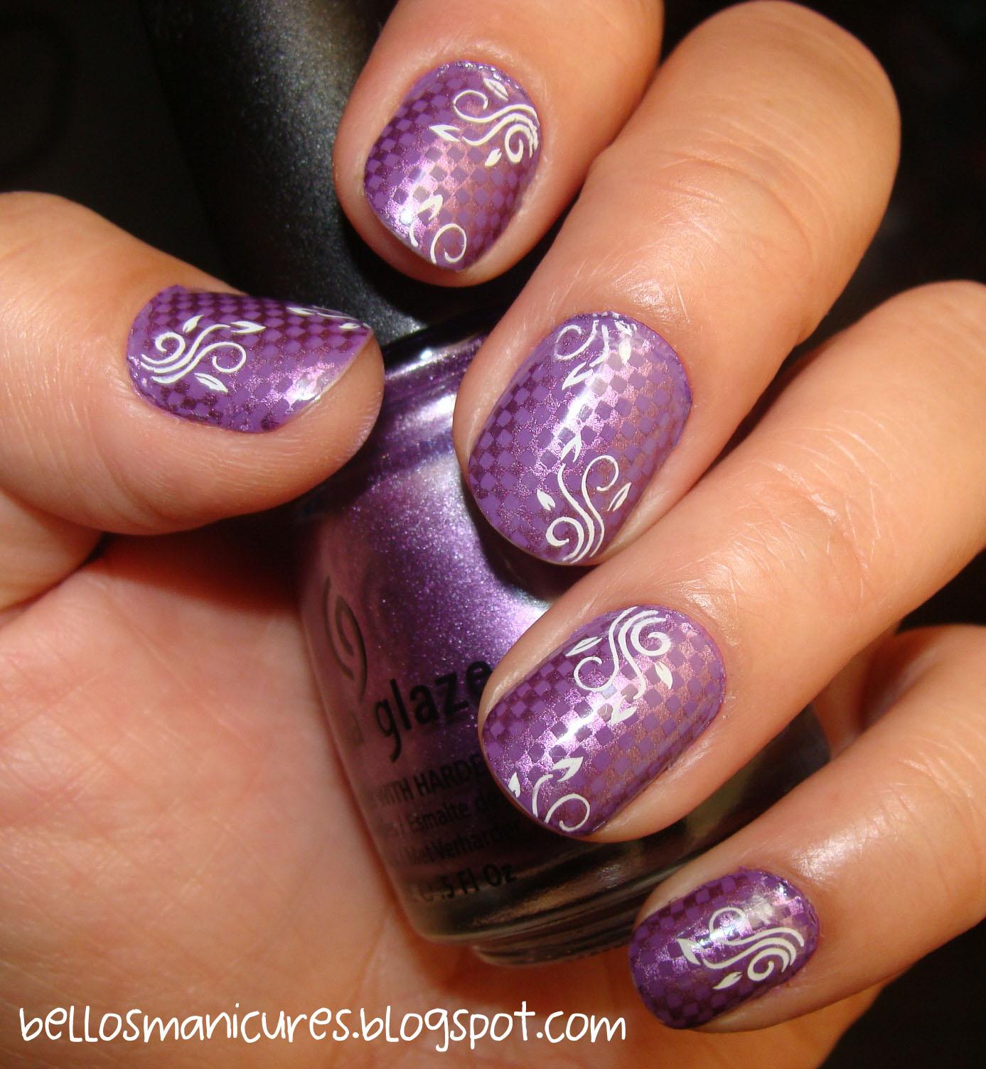 Diseño sencillo para uñas cortas | BELLEZA EN TUS MANOS