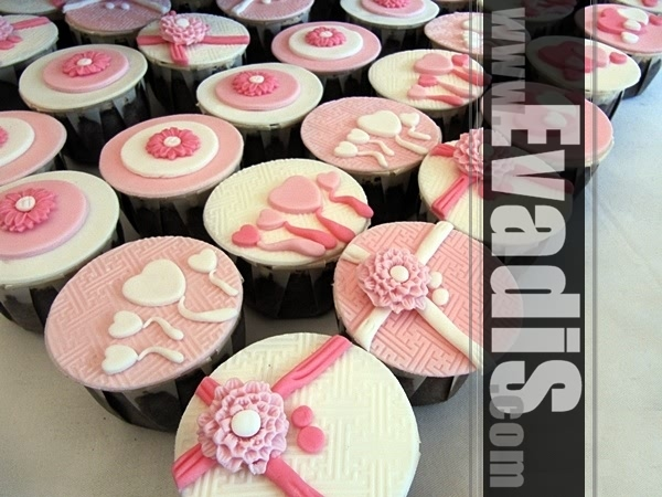 Picture of cupcakes with different designs