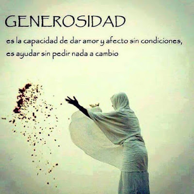 Imagenes Con Frases Sobre La Generosidad