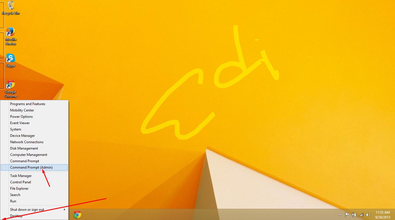 cara aktivasi windows 8.1 dengan cmd