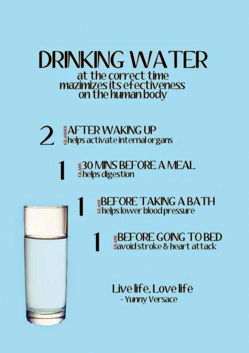 Masa wajib minum air