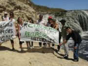 Caminata en defensa de recursos naturales...