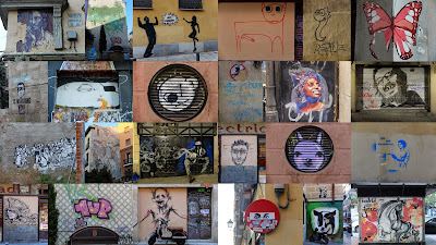 Street Art Sample in Madrid