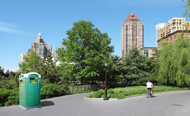 Battery Park City Portable Toilet