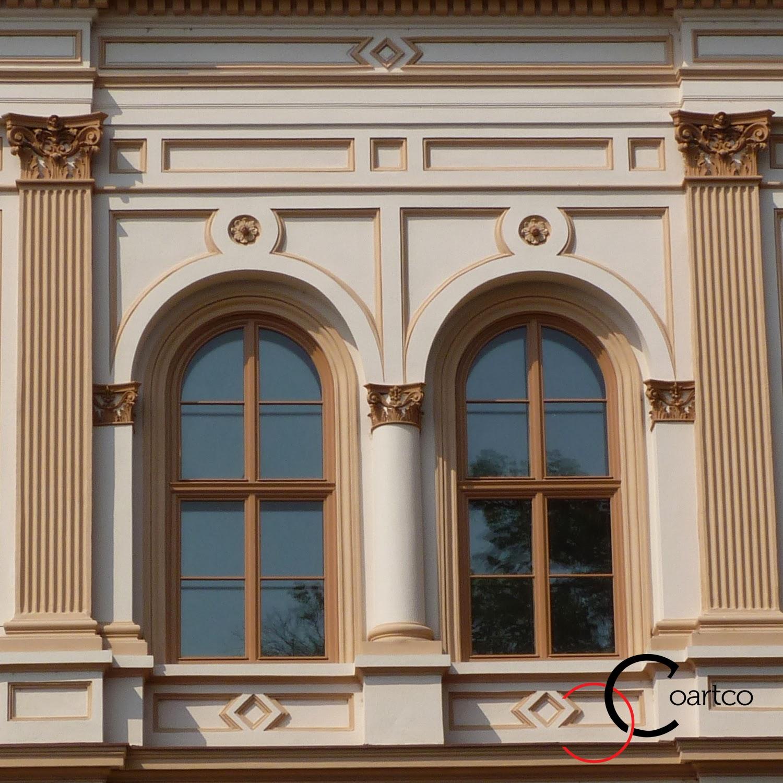 Fatade case cu Stil, Pilastri polistiren, coloane, Arcade polistiren