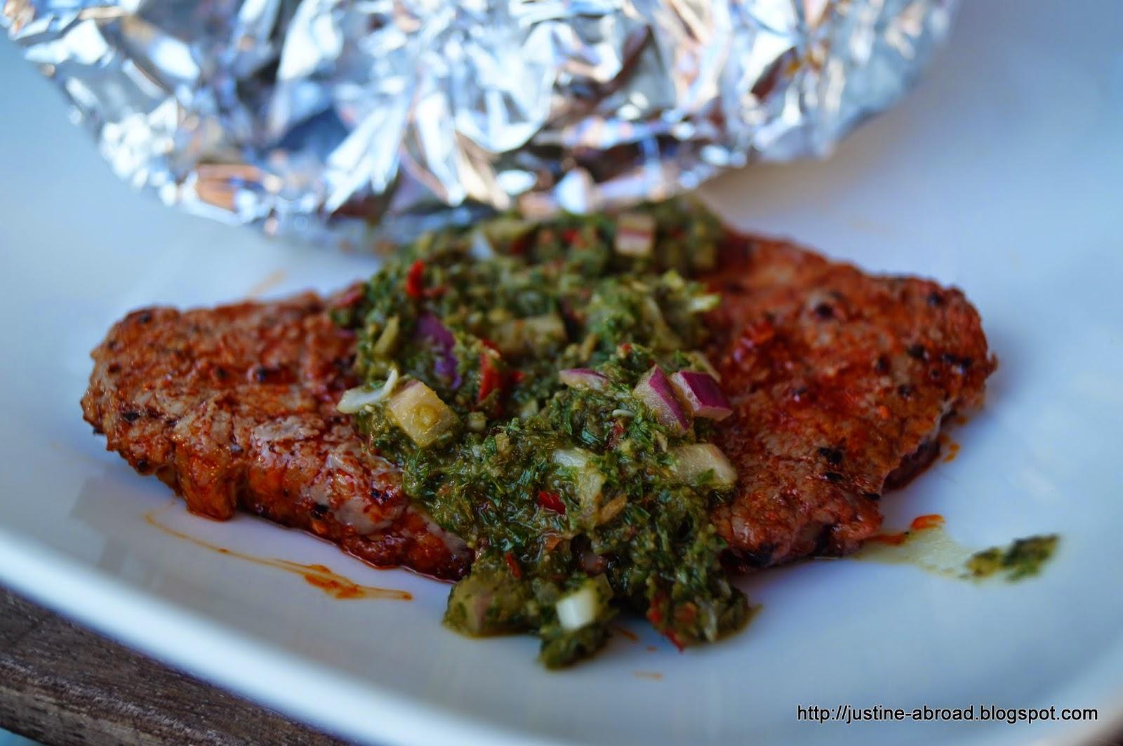 chimichurri, steak, grill, kuchnia argentyńska