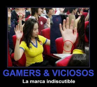 gamers y viciosos
