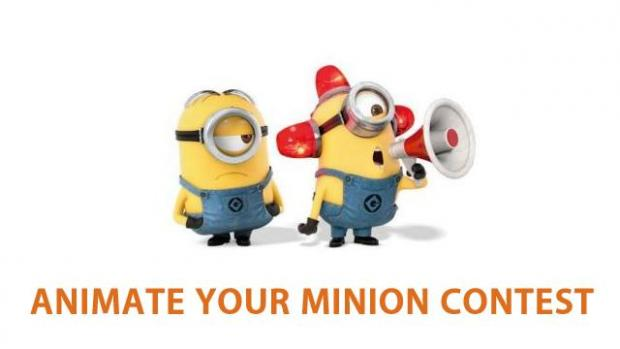 moving animation backgrounds animate your minion contest with free