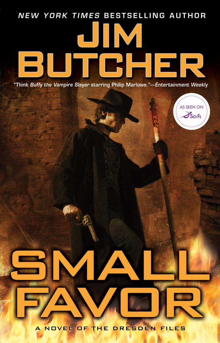 Small Favor, By Jim Butcher Book 10 Of The Harry Dresden Files