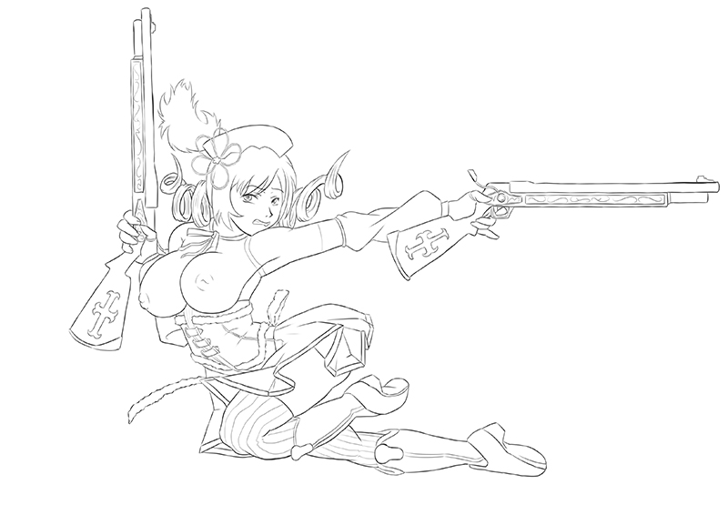 [Lineart] EroMami