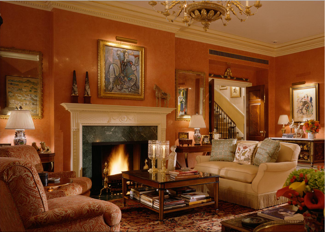 Oprah winfrey house interior Inside house living room