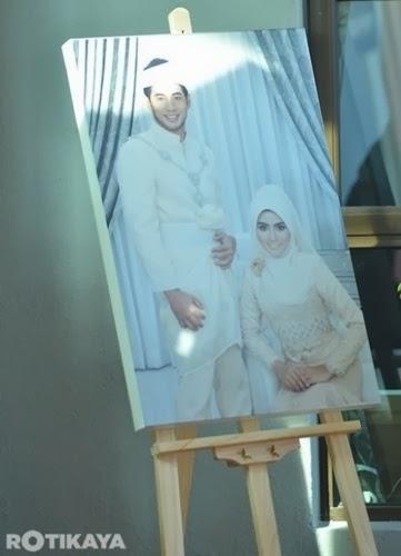 Gambar pertunangan Fizo Omar dan Mawar