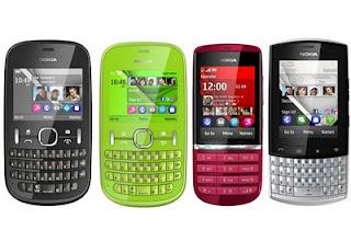 Nokia Meluncurkan 4 Ponsel S40 Terbarunya