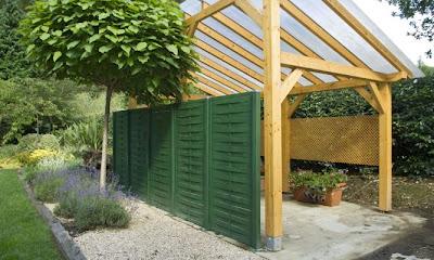 Arte y jardiner a superficies verticales materiales para el jard n - Ocultacion para jardin ...