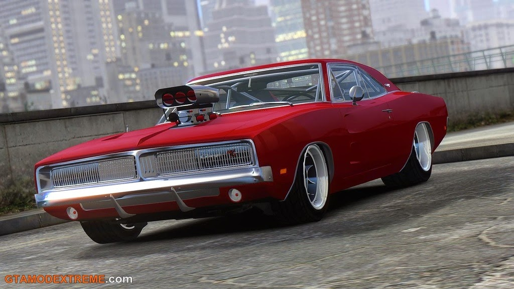 Download Carro Dodge Charger 1969 Para GTA IV