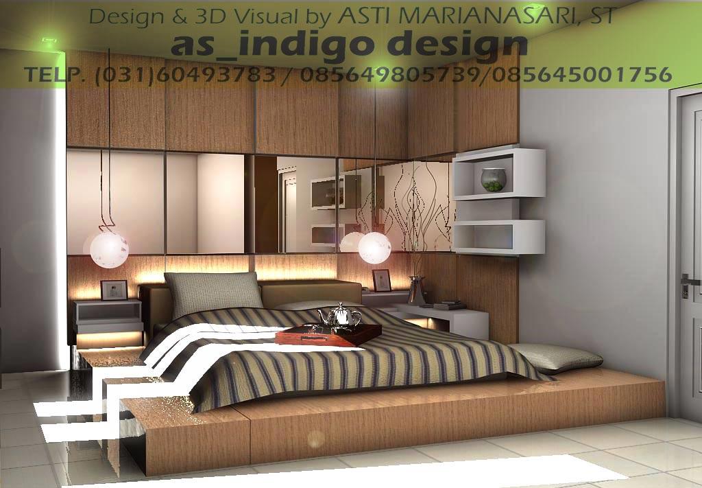 Interior kamar tidur utama terbaru &;