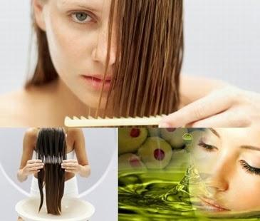 Olivenöl-Haut und Haarpflege