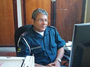 Subtenente Santos, chefe do almoxarifado