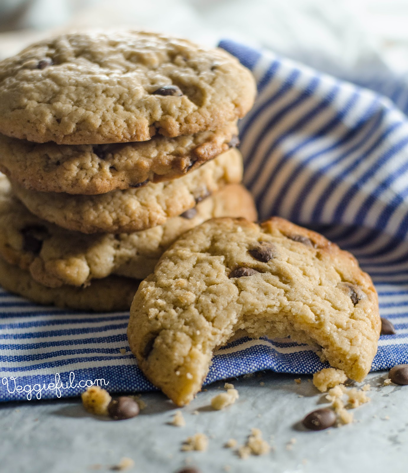 Veggieful: Vegan Chocolate Chip Cookie Recipe