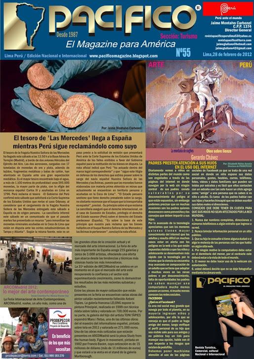 Revista Pacífico Nº 55 Turismo