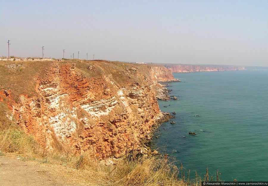 Восточный берег мыса Калиакра