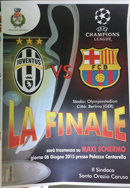 Finale Champions League Aci Sant'Antonio