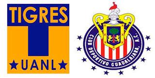 Tigres vs Chivas Guadalajara en vivo online