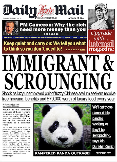 Parody, Spoof, The Daily Mail, Bumf, Bumph