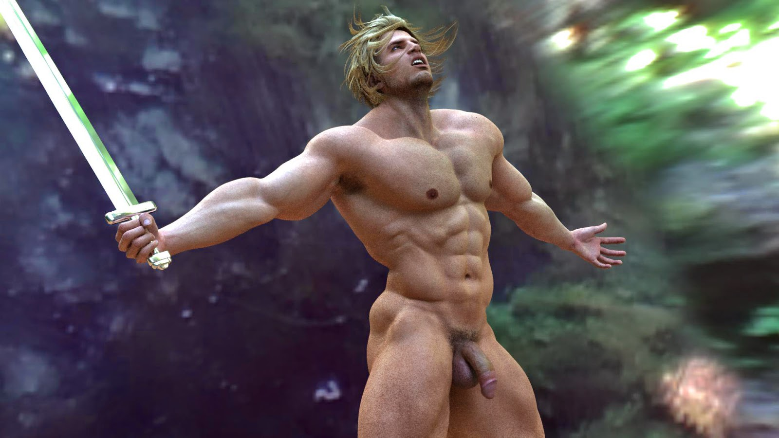 Nude male warrior fantasy photos sexy photos