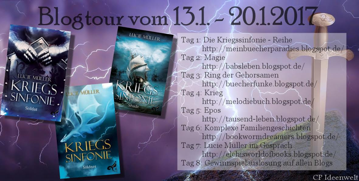 "Blogtour ""Kriegssinfonie"" - Lucie Müller - 13.01. - 23.01.2017"