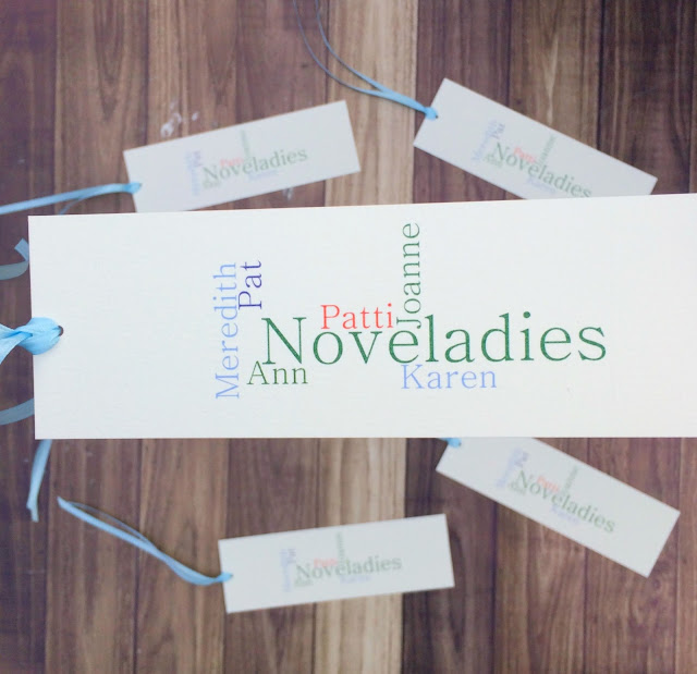 Personalized Bookmarks - Great Book Club Holiday Gift | www.jacolynmurphy.com