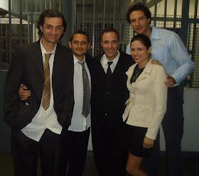 Com Diogo Portugal, Filúvio Gardel e Cia Ltda.