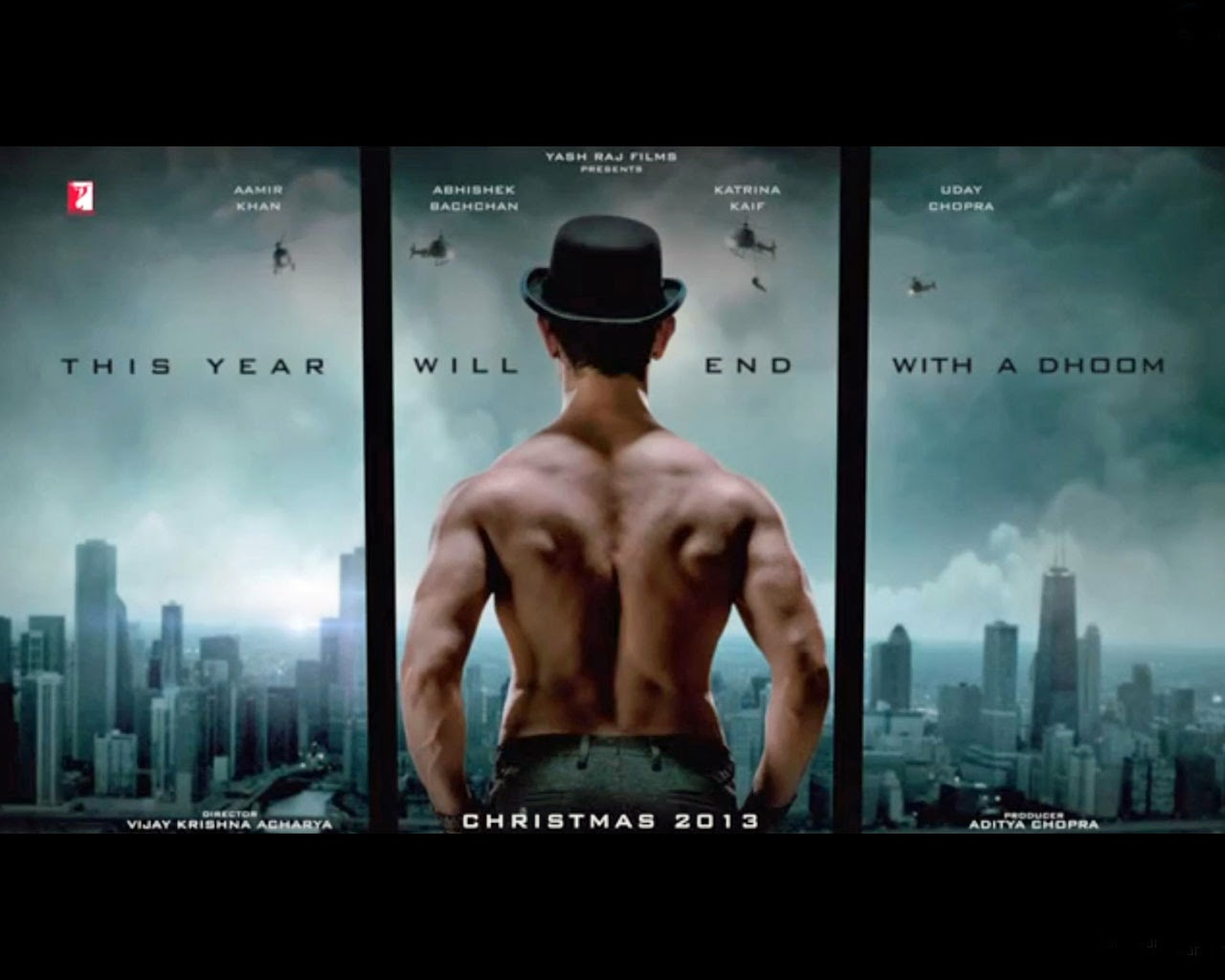 Dhoom 3 Latest HD Posters ~ Allfreshwallpaper