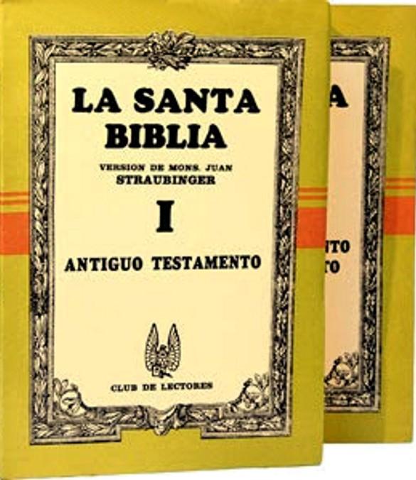 SANTA BIBLIA (Straubinger)
