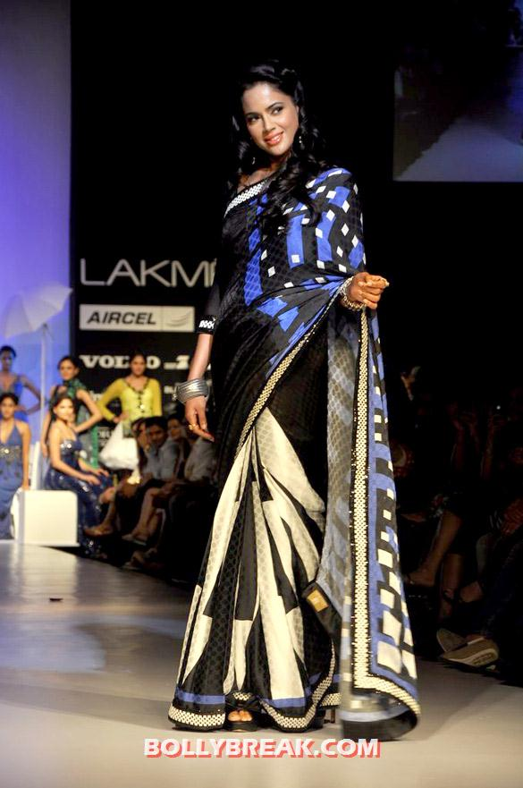 , Sameera ,geeta , Parvathy At Archana Kocchar At Lfw 2012