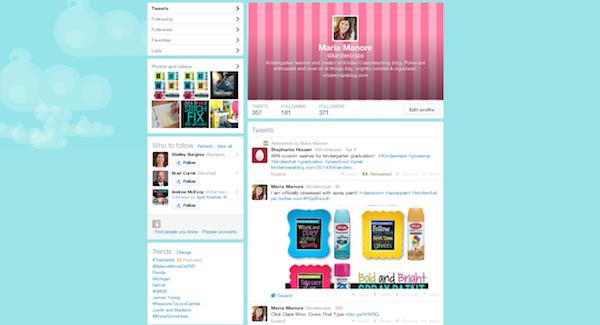 follow Kinder-Craze on Twitter