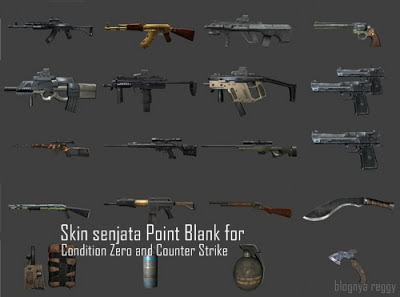 cara menambah senjata point blank ke condition zero counter strike