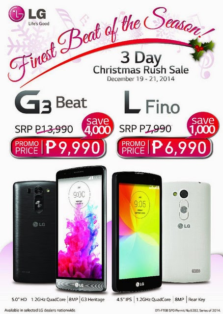 LG Philippines Christmas Sale