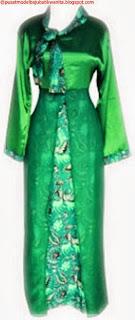 Model baju batik gamis modern