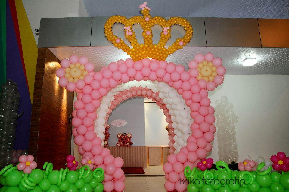 Meninas Do Papel~ Decoracao Festa Ursa Princesa