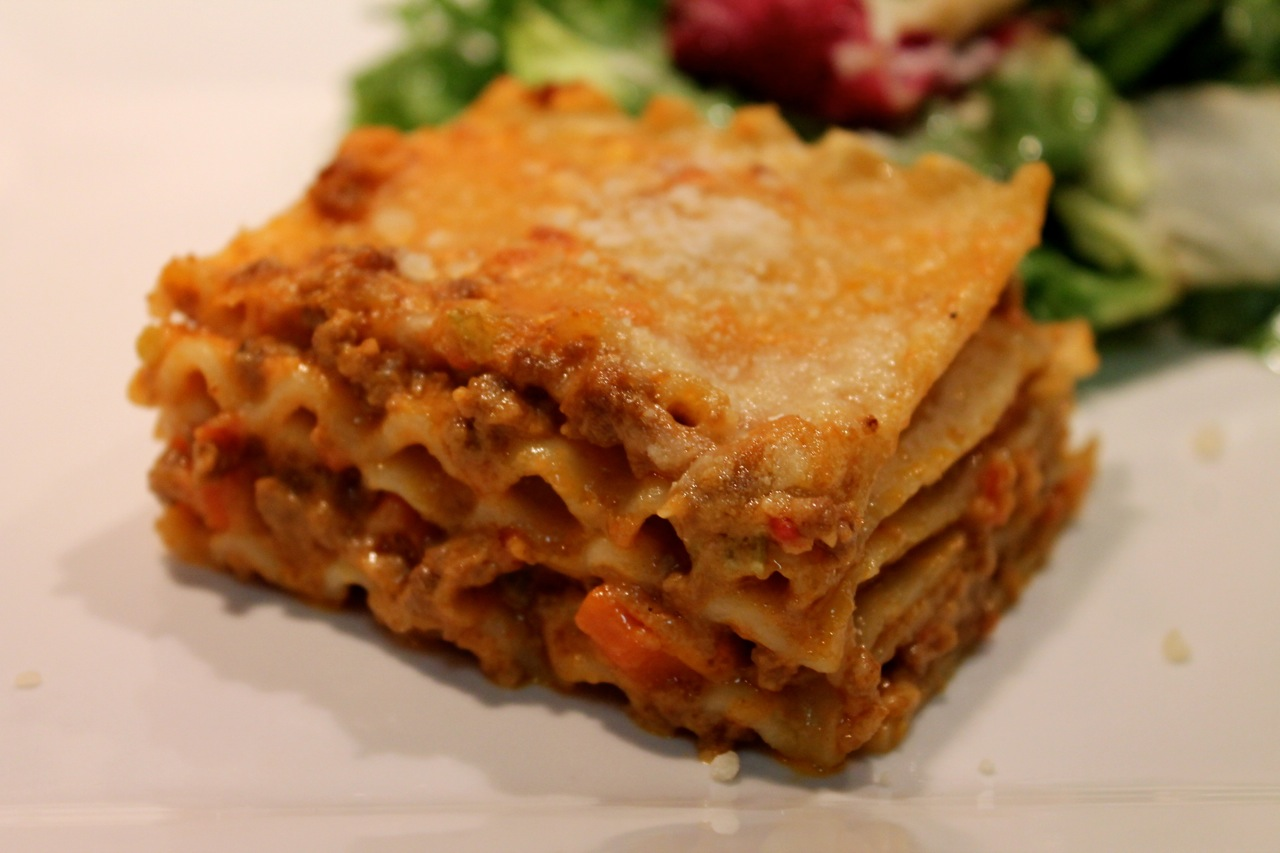 ... lasagna is how versatile it is last summer i made a lasagna with